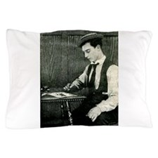 buster,keaton Pillow Case