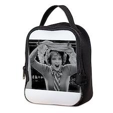 clara bow Neoprene Lunch Bag