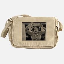 clara bow Messenger Bag