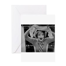 clara bow Greeting Cards
