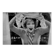 clara bow Postcards (Package of 8)