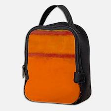 ROTHKO IN RED ORANGE Neoprene Lunch Bag