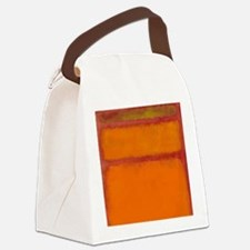 ROTHKO IN RED ORANGE Canvas Lunch Bag