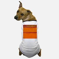 ROTHKO IN RED ORANGE Dog T-Shirt