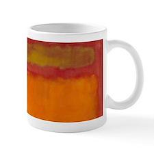 ROTHKO IN RED ORANGE Mugs