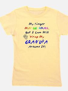My Little Finger Grandpa Girl's Tee