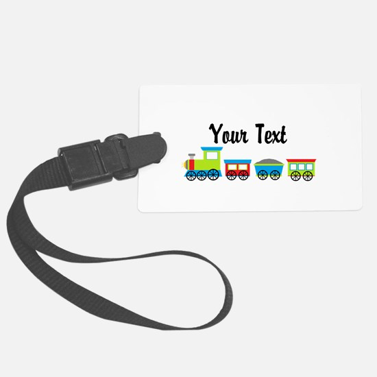 Personalizable Choo Choo Train Luggage Tag