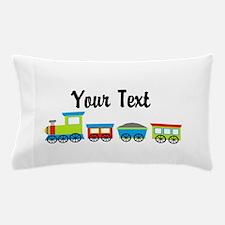 Personalizable Choo Choo Train Pillow Case