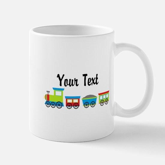 Personalizable Choo Choo Train Mugs