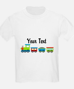 Personalizable Choo Choo Train T-Shirt