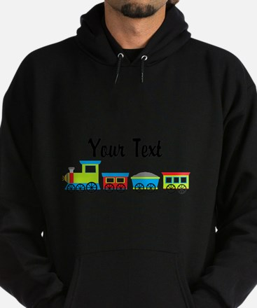 Personalizable Choo Choo Train Hoody