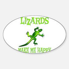 Cute Lizard Decal