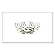 Kratom ( Mitragynine ) Molecule Design Decal