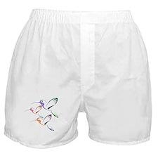 Patchwork Trio of Hummingbirds Boxer Shorts