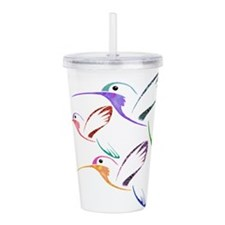 Patchwork Trio of Humm Acrylic Double-wall Tumbler