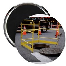 "Cute Construction safety 2.25"" Magnet (10 pack)"