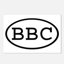 BBC Oval Postcards (Package of 8)