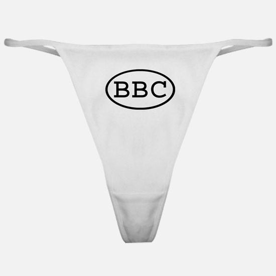 BBC Oval Classic Thong