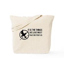 Mockingjay Tote Bag