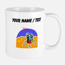 Cartoon Lunar Module (Custom) Mugs