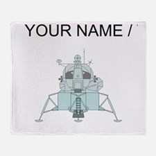 Lunar Module (Custom) Throw Blanket