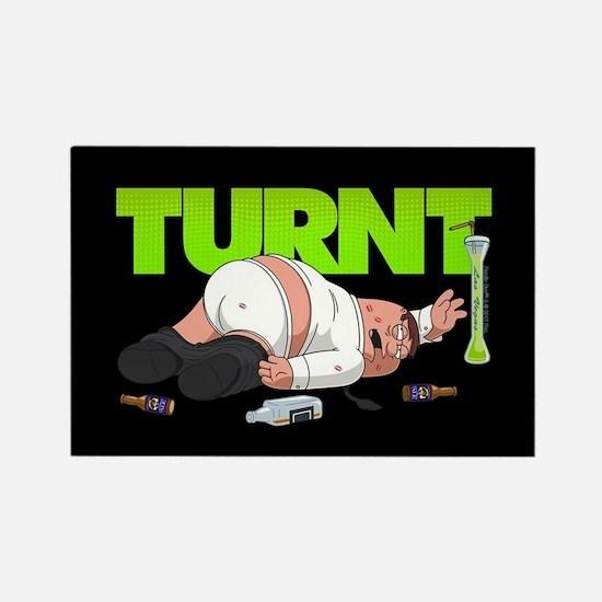 Family Guy Peter Turnt Rectangle Magnet