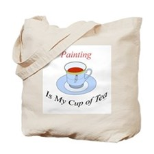 Painting is my cup of tea Tote Bag