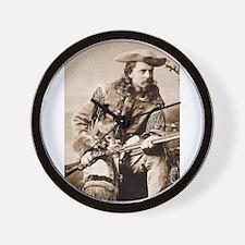 buffalo bill Wall Clock