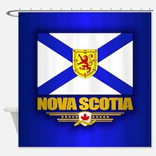 Nova Scotia Flag Shower Curtain