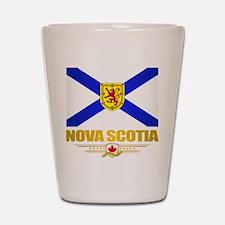 Nova Scotia Flag Shot Glass