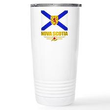 Nova Scotia Flag Travel Mug