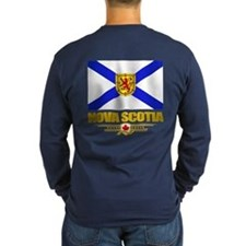Nova Scotia Flag Long Sleeve T-Shirt