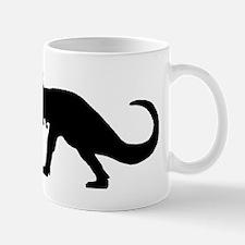 T-Rex Silhouette Mugs