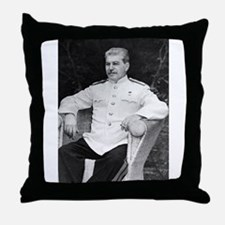 joseph stalin Throw Pillow
