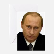 vladimir putin Greeting Cards