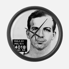 lee harvey oswald Large Wall Clock