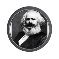 karl marx Wall Clock