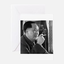 mao tse tung Greeting Cards