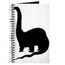 Brachiosaurus Silhouette Journal