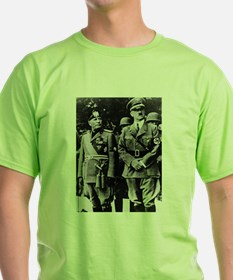 adolph hitler benito mussolini T-Shirt