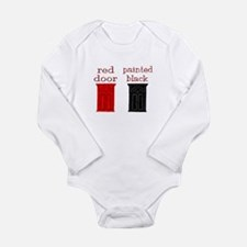 red door painted black Body Suit
