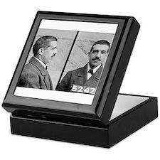 charles ponzi Keepsake Box