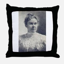 lizzie borden Throw Pillow
