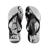 Bonnie and clyde Flip Flops
