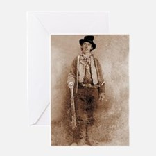 billy the kid Greeting Cards