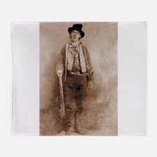 billy the kid Throw Blanket
