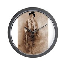 billy the kid Wall Clock