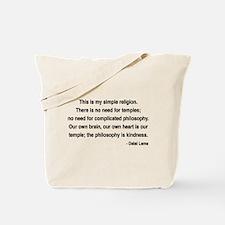 Dalai Lama 1 Tote Bag