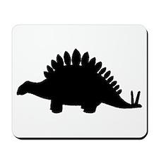 Stegosaurus Silhouette Mousepad