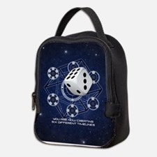 Six Different Timelines Neoprene Lunch Bag